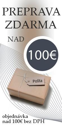 Preprava zdarma 100€