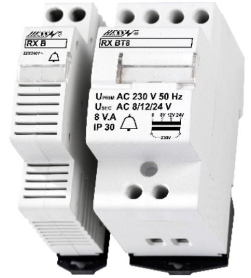 zvonkový transformátor RX 8V.A