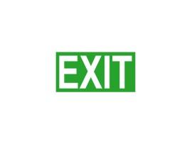 EXIT PICTO-EXIT - Evakuačná značka