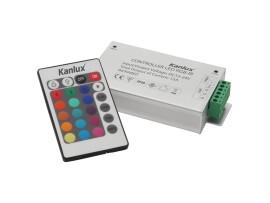 CONTROLLER LED RGB-IR - riadiaca jednotka LED pásu