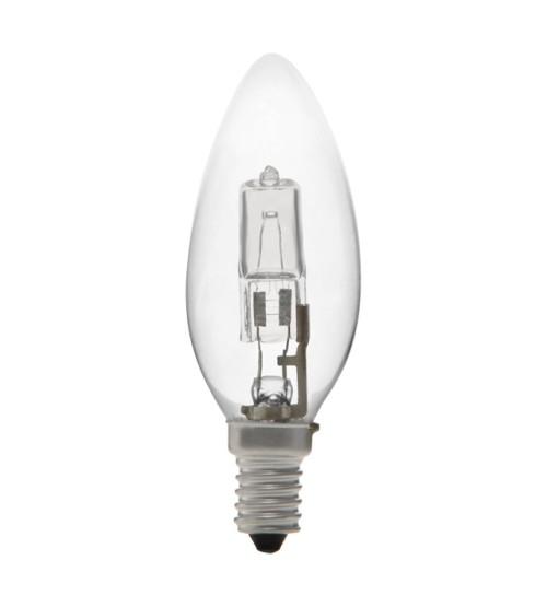 CDH/CL 28W E14 Halogenová žiarovka sviečka