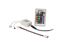 CONTROLLER LED RGB-IR20 - riadiaca jednotka LED pásu