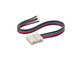CONNECTOR RGB 10-CP konektor LED pásu ( cena za balenie 20 ks )