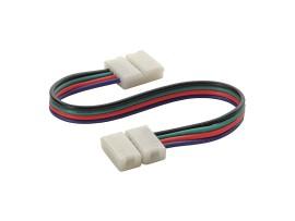 CONNECTOR RGB 10-CPC konektor LED pásu ( cena za balenie 20 ks )