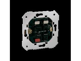 Striedavý prepínač dvojitý, radenie č. 6+6 10AX