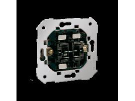 Tlačidlo jednoduché spínacie a striedavý prepínač - 2 klávesy 10AX