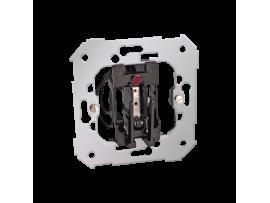 Hotelový kartový spínač s orientačným podsvietením 6A 2A