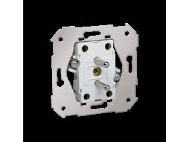 Dvojitá zásuvka s uzemnením 16A