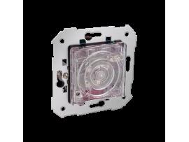 Schodový tlačítkový spínač (s relé) so spodným osvetlením