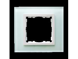 Rámček 1 - násobný sklenený prírodný / biala