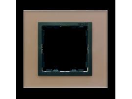 Rámček 1 - násobný sklenený meď / grafit