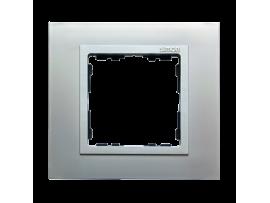 Rámček 1- násobný hliník / hliník mat