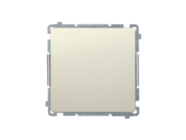 Krížový prepínač, radenie č. 7 bez piktogramu (prístroj s krytom) 10AX 250V, skrutkové svorky, béžový