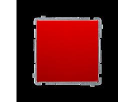 Jednopólový spínač, radenie č. 1 (prístroj s krytom) 10AX 250V, pružinové svorky, červený