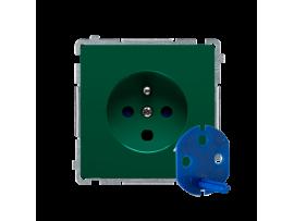 Jedno zásuvka DATA s oprávňujúcim kľúčom zelený 16A