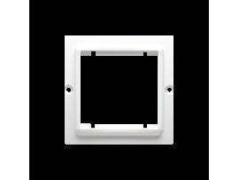 Adaptér pre montáž štandardu 45×45 mm biela