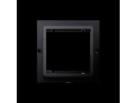 Adaptér pre montáž štandardu 45×45 mm grafit mat. metalizovaný