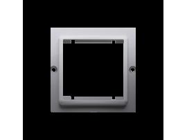 Adaptér pre montáž štandardu 45×45 mm nerez, metalizovaný
