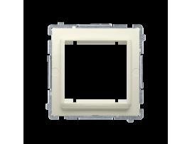 Adaptér pre montáž štandardu 45×45 mm béžový