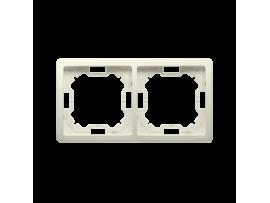 Rámček 2- násobný béžový