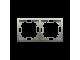 Rámček 2- násobný saténový, metalizovaný