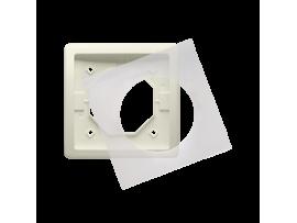Rámček 1 - násobný IP44 béžový