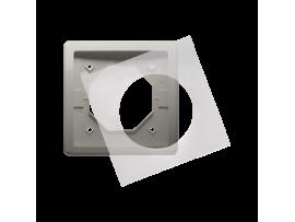 Rámček 1 - násobný IP44 saténový, metalizovaný