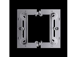Jednoduchá, skladacia povrchová krabica nerez, metalizovaný
