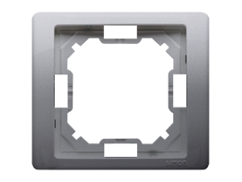 Rámček 1- násobný nerez, metalizovaný