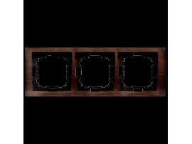 Rámček 3- násobný dubový, hydrografika