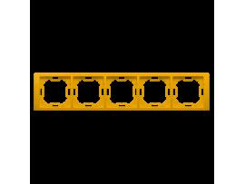 Rámček 5- násobný slnečný, metalizovaný