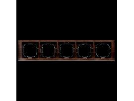 Rámček 5- násobný dubový, hydrografika