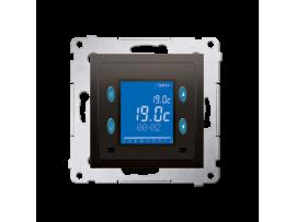 STIAHNUTÝ Z PONUKY Termostat s displejom (vnútorný senzor) hnedá matná