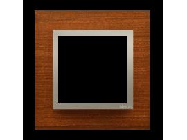 Rámček 1 - násobný drevený Orech/zlato
