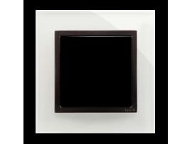 Rámček 1 - násobný sklenený Búrková/antracit