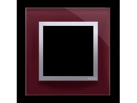 Rámček 1 - násobný sklenený slivková