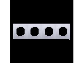 Sada tesnení IP44 pre rámčeky 4-násobné
