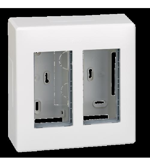 Nástenná skriňa SIMON 500 2×S500 4×K45 čisto biela