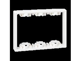 Prvok zvýšenia hĺbky SIMON 500 3×S500 6×K45 čisto biela