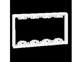 Prvok zvýšenia hĺbky SIMON 500 4×S500 8×K45 čisto biela
