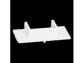 Adaptér pre kanál 20x30mm pre nástenné skrine SIMON 500 čisto biela