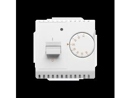 Termostat s vnútorným senzorom biela