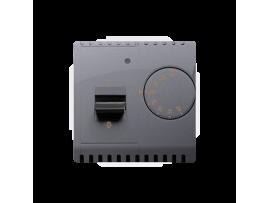 Termostat s vnútorným senzorom strieborná matná