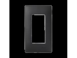 Rámček krabice SIMON 500 1×S500 2×K45 grafitovo-sivá