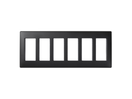 Rámček krabice SIMON 500 6×S500 12×K45 grafitovo-sivá