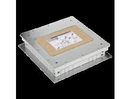 Kazeta z kovu pre liate podlahy SF štvorcová 75mm90mm