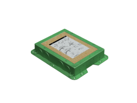 Kazeta plastová pre liate podlahy KF obdĺžnikový