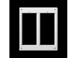 Rámček príslušenstva CIMA 2×CIMA (náhradný diel) čisto biela