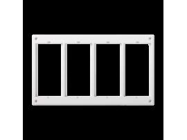 Rámček príslušenstva CIMA 4×CIMA (náhradný diel) čisto biela