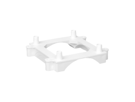 Základ pre miniveža ST pre podlahové kanály DCS čisto biela